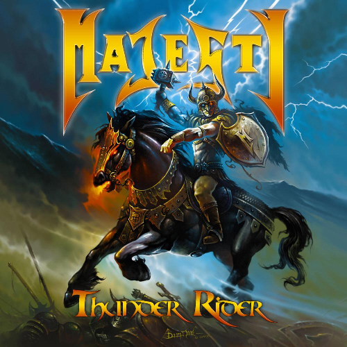 Majesty thunder rider official video true metal