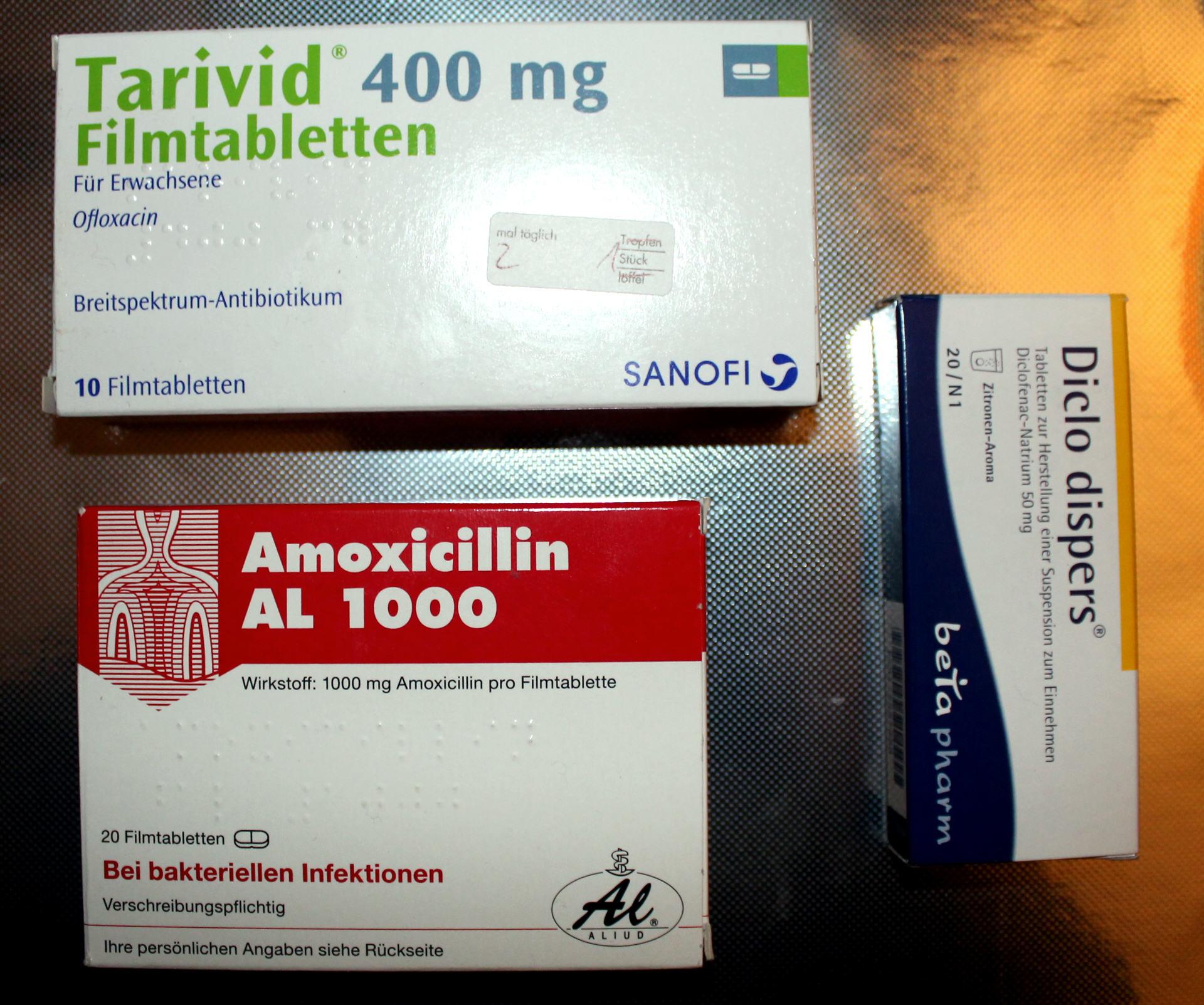 Welche Antibiotika Bei Mittelohrentzündung
