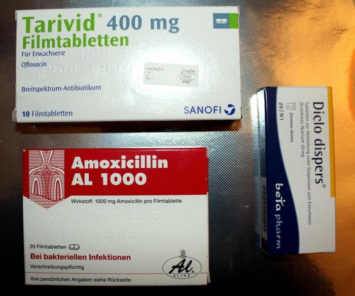 Tablettenkur_Ohrenentzündung