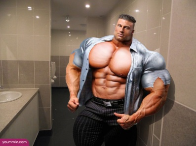 Largest-body-muscles-man-in-the-world-2015-Steroids-uk-14