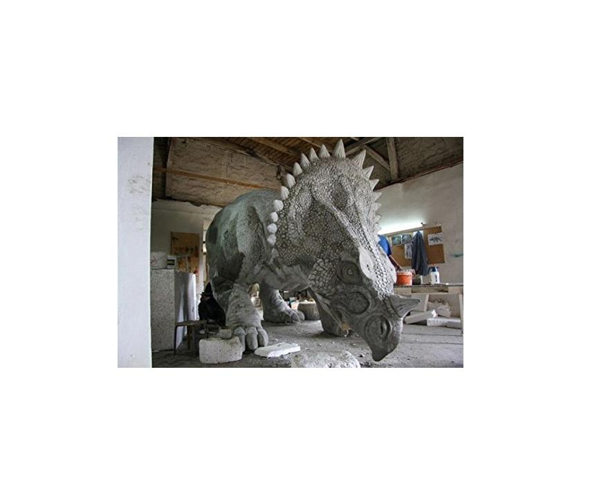 triceratops-lebensgroß