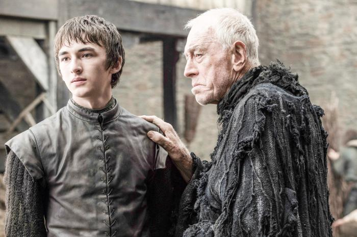 Game Of Thrones, Bran Stark, Rickon, Brothers, Raven, Old Man, Advice