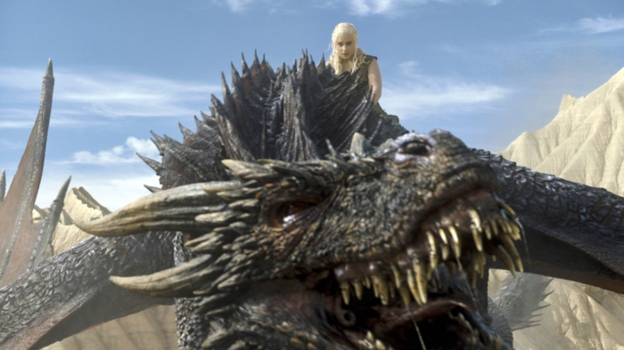 Game Of Thrones, Khaleesi, Dragon, Riding, Flying, Epic, Battle, Fight