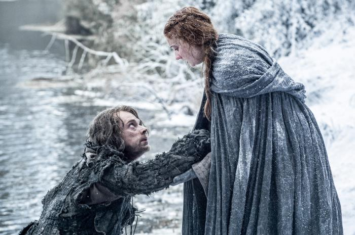 Game Of Thrones, Promo, HBO, Sansa, Theon, Graufreud, Stark, Pakt, Bündnis