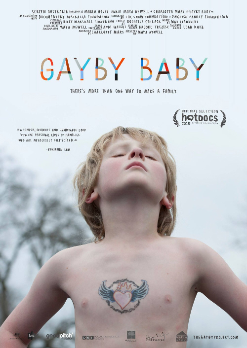 Gayby Baby Poster, Cover, Official, Plakat, Vorführung, Kino